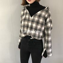 Gingham Tartan Other Check Patterns Casual Style