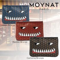MOYNAT Monogram Casual Style Canvas Clutches