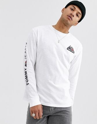 Tommy Hilfiger Long Sleeve Crew Neck Street Style Long Sleeves Long Sleeve T-Shirts 2