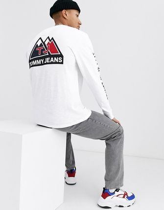 Tommy Hilfiger Long Sleeve Crew Neck Street Style Long Sleeves Long Sleeve T-Shirts 4