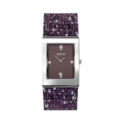 Square Party Style Stainless Elegant Style Digital Watches