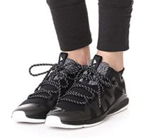 adidas by Stella McCartney Plain Toe Round Toe Lace-up Casual Style Unisex Street Style