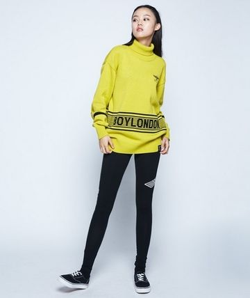 Stripes Casual Style Unisex Street Style Long Sleeves Plain