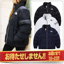 THE NORTH FACE WHITE LABEL Unisex Street Style Oversized Down Jackets