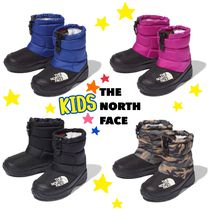 THE NORTH FACE Nuptse Unisex Street Style Home Party Ideas Kids Girl Rain Shoes