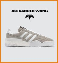 Alexander Wang Suede Collaboration Plain Sneakers