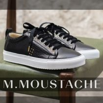 M. MOUSTACHE Casual Style Studded Street Style Other Animal Patterns