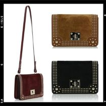 RED VALENTINO 2WAY Leather Elegant Style Shoulder Bags