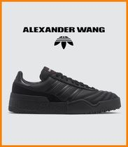 Alexander Wang Faux Fur Collaboration Plain Sneakers