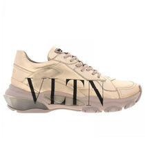 VALENTINO Street Style Low-Top Sneakers