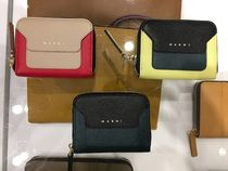 MARNI Leather Coin Cases