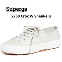 SUPERGA Casual Style Unisex Other Animal Patterns Low-Top Sneakers