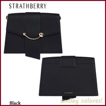 STRATHBERRY Casual Style Leather Elegant Style Formal Style