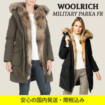 WOOLRICH Nylon Plain Medium Long Parkas