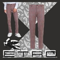ETRO Slax Pants Tapered Pants Other Check Patterns