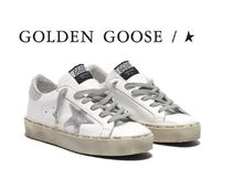 Golden Goose Street Style Leather Low-Top Sneakers