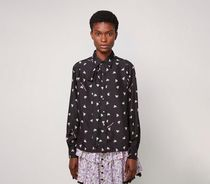MARC JACOBS Casual Style Silk Street Style Collaboration Long Sleeves