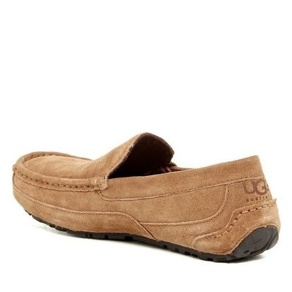 UGG Australia Driving Shoes Suede Plain Logo Loafers & Slip-ons