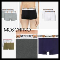 Moschino Plain Cotton Boxer Briefs