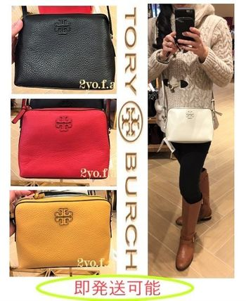 Casual Style Plain Leather Party Style Shoulder Bags