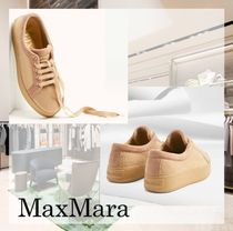 MaxMara Casual Style Plain Low-Top Sneakers