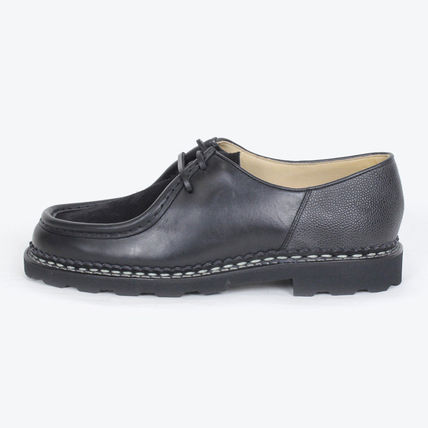 Suede Collaboration Oxfords