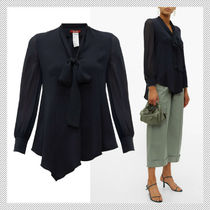 Max Mara Studio Casual Style Long Sleeves Office Style Shirts & Blouses