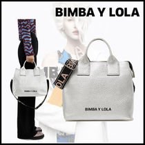 bimba & lola Casual Style Unisex Street Style 2WAY Plain Leather