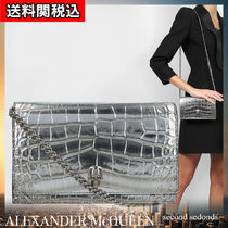alexander mcqueen Calfskin Other Animal Patterns Leather Party Style