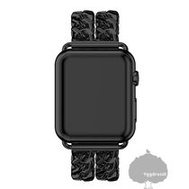 Unisex Street Style Chain Smartwatch Apple Watch Belt
