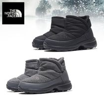 THE NORTH FACE Casual Style Unisex Street Style Plain Boots Boots