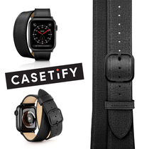 casetify Casual Style Unisex Leather Party Style Office Style