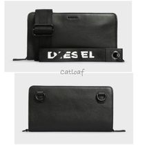 DIESEL Casual Style Street Style 2WAY Leather Party Style