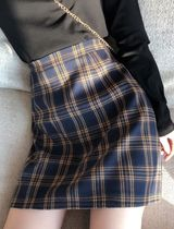 Pencil Skirts Short Gingham Other Plaid Patterns Mini Skirts