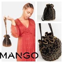 MANGO Party Style Purses Party Bags