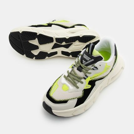 BEAN POLE Low-Top Rubber Sole Casual Style Unisex Blended Fabrics Street Style 2