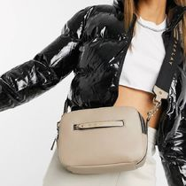 REPLAY Street Style Plain Shoulder Bags