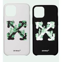 Off-White Unisex Street Style Smart Phone Cases
