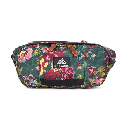 Flower Patterns Unisex Crossbody Shoulder Bags