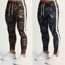 VANQUISH FITNESS Tapered Pants Camouflage Sweat Street Style Plain