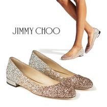Jimmy Choo Open Toe Casual Style Peep Toe Pumps & Mules