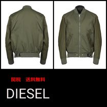 DIESEL Short Plain Jackets