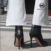 Michael Kors Casual Style Plain Pin Heels Party Style Elegant Style