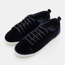 BEAN POLE Rubber Sole Casual Style Unisex Blended Fabrics Studded