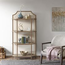 MADISON PARK Wooden Furniture Jewelry Organizer Book Shelves