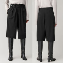 COS Casual Style Wool Plain Medium Office Style Culottes