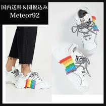N21 numero ventuno Casual Style Plain Low-Top Sneakers