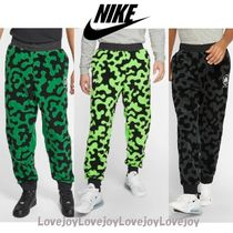 Nike Printed Pants Camouflage Street Style Patterned Pants