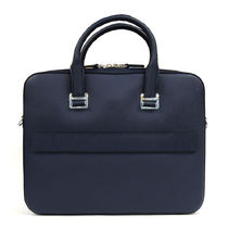 Dunhill Plain Leather Logo Business & Briefcases