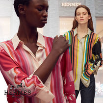 HERMES Silk Cotton Shirts & Blouses